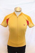 New Pearl Izumi Women's Vertex Short Sleeve Cycling Jersey X-Small XS Orange NWT