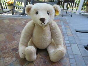 "Vintage Steiff Stuffed Teddy Bear 15"", ( Made in Western Germany)"