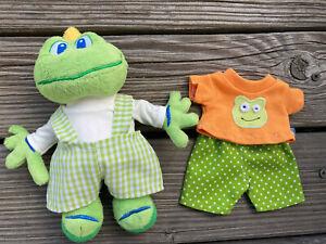 Kleidung für Signal Frosch 20 cm Bär Teddy Puppenkleidung Shirt + Hose frog NEU