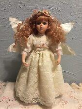 """Seymour Mann Bless The Children 13"""" Porcelain Angel Doll C18269"""