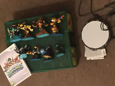 NINTENDO Wii Skylanders Swap-FORCE GIOCO + POWER PORTAL +8 figure + scatola grande