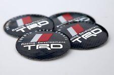 """4x TRD Racing Development Wheel Center Cap Sticker Emblem Decal 2.25"""" diameter"""