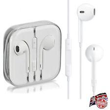 WHITE Earphones Handsfree Headphones For EarPods Mic SONY HTC SAMSUNG S 6 NOKIA