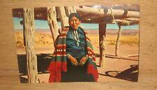 Vintage Navajo Women Canyon De Chelly Arizona Unposted Postcard