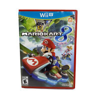 MarioKart 8 Nintendo Wii U 2014 Complete with Disc Case And Manual