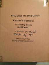 Serial Numbered Case NRL & Rugby League Trading Cards