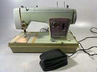 Vintage Sears Kenmore Sewing Machine 2142 + Case External Motor Tested Clean