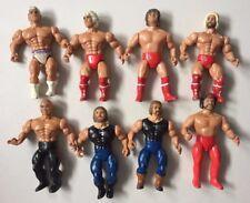 AWA REMCO Loose Wrestling Figures FLAIR FREEBIRDS BARON GARVIN RIDERS WWE WWF