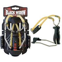 NEW Barnett BLACK WIDOW Powerful Hunting Slingshot Catapult