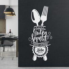 Guten Appetit Wandtattoo für Küche deko Spruch Esszimmer Cafe  w503c