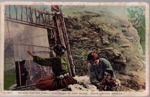 (147i) Grand Canyon AZ: Navajo Weaver