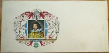 Hand-Painted / Original Art 1940s Cigar Box Label from French Printer's Archive
