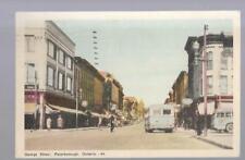 pk34585:Postcard-George Street,Peterborough,Ontario