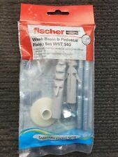 FISCHER Pedestal Washbasin Fixing WST140 Also Suitable For Cistern To Wall