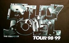 Billy Joel in concert tour 98-99 t-shirt adult XL black