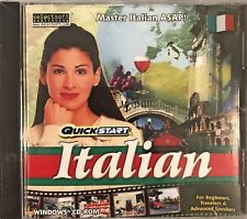 QuickStart Italian Pc Brand New Win10 8 7 XP