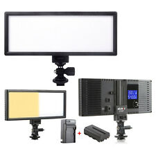 Viltrox L132T LED Slim LCD&Bi-Color Dimmable Studio Video Light+ battery+charger