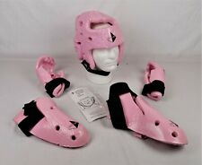 Century Soft Padded Vinyl Karate Sparring Gear Pads Youth Pink