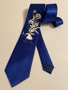 Lock Shock And Barrel Necktie, New, Nightmare Before Christmas, Royal Blue