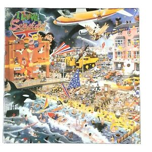 I Love The Seaside Jigsaw Puzzle 1000 Gibsons Mike Jupp Beach Humour Sun Swim