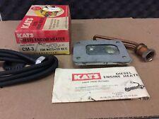 NOS NEW KAT'S DIESEL ENGINE HEATER CM-3 120V 1500 WATTS