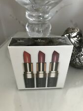 Bobbi Brown Lipstick Trio Brand New In Sealed box airline exclusive rep £39.95