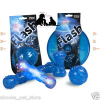 Self Healing TPR LED Lights Activated When Feels Impact Throw & Retrieve Dog Toy