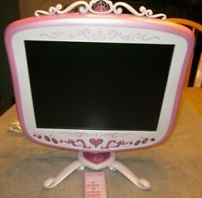 "Disney Princess TV / Computer Monitor Model P1500LT 15"" Screen w/Remote used"