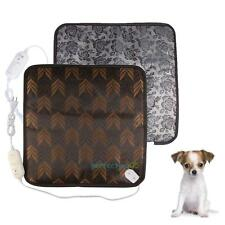 Pet Dog Cat Waterproof Electric Heating Pad Heater Warmer Mat Bed Blanket 220V