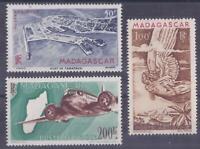 Colonies françaises - Madagascar - Pa n° 63 à 64A**