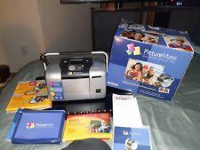 New Epson PictureMate Personal Photo Lab Model B271A 200 Kodak photo sheets
