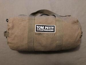 RARE Tom Petty Heartbreakers 2014 Tour VIP Only Survival Kit Duffel Gym Bag