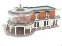 HERPA 6051 Cafe mit Figure + Effektbeleuchtung RARITÄT BELEUCHTET Spur N D0571