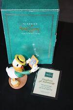 WDCC DONALD DUCK Donald's 60th Birthday Figurine Walt Disney Daisy With Love