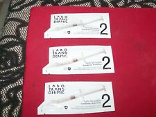 labo transdermic 3*2ml grade 2 anti-wrinkle lip contour samples