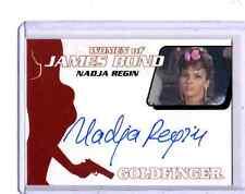 2014 James Bond Archives Nadja Regin auto card