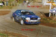 Malcolm Stewart AUDI COUPE S2 NEW ZEALAND RALLY 1993 fotografia 2