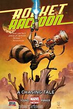 Rocket Raccoon Volume 1: A Chasing Tale Hardcover Comic Book 2015 - Marvel
