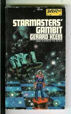 STARMASTER'S GAMBIT by Klein, DAW #68 sci-fi pulp vintage pb Freas art