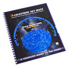 Celestron 93722 Sky Maps with Glow-in-The-Dark Planisphere & Heavy Card Stock