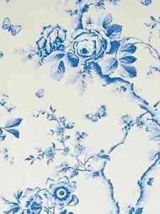 PRL 0127/01 Ralph Lauren Ashfield Floral Wallpaper - NEW - 2 WIDE ROLLS - £202