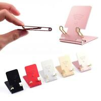 Universal Foldable Aluminum Alloy Tablet Stand Mobile Phone Holder For iPhone