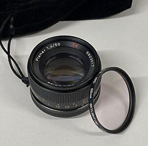 Carl Zeiss Planar T* 50mm f/1.4  Contax
