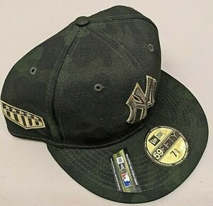 New Era New York Yankees Armed Forces Day On Field 7 5/8 Fitted Hat (Camo UV)