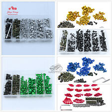 Colorful Motorcycle Sportbike Windscreen Fairing Bolts Kit Fastener Clips Screws