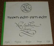 MUSIC LIBRARY NEW SOUTHERN twenty eight-fifty eight DUNCAN LAMONT 1983 UK STEREO