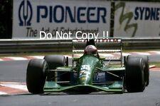 Andrea de Cesaris Jordan 191 italiano Grand Prix 1991 fotografía