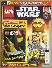 LEGO STAR WARS MAGAZINE UK Issue #9 With Ltd Ed Naboo Starfighter Mint Unread