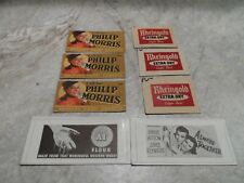 HO SCALE MISC. VINTAGE SIGNS