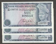 Rm 1 Ismail 3rd series 1976 cons nos 3 pcs unc See description